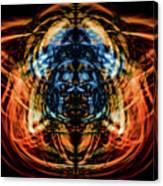 10643 Summer Fire Mask 43 - Logi Canvas Print