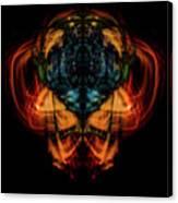 10644 - Summer Fire Mask 44 - The Battle Imp Canvas Print