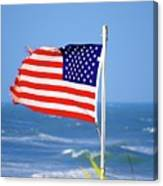 Summer Flag Canvas Print