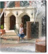 Summer Fun In Charleston Canvas Print