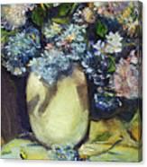 Summer Hydrangea Canvas Print