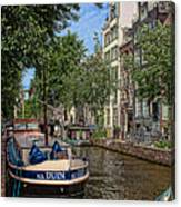 Summer In Amsterdam-1 Canvas Print