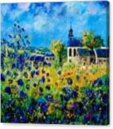 Summer In Foy Notre Dame  Canvas Print