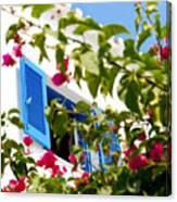 Summer In Greece Canvas Print