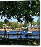 Summer In Marblehead, Ma Canvas Print
