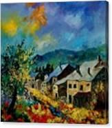 Summer In Mogimont Canvas Print