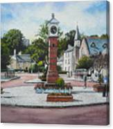 Summer In The Square Canvas Print