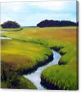 Summer Marsh Canvas Print