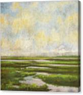 Summer Marsh Canvas Print