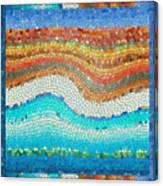 Summer Mosaic Canvas Print