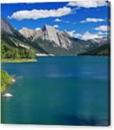 Summer On Medicine Lake Canvas Print
