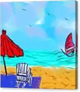 Summer On Nantasket Canvas Print