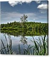 Summer On Waukeena Lake Canvas Print