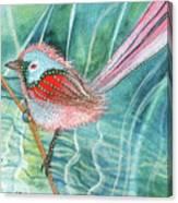 Summer Pond Daydreams Canvas Print