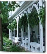 Summer Porch Canvas Print