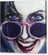 Summer - Portrait Of A Woman Canvas Print