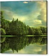 Summer Reflections Canvas Print