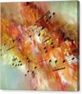 Summer Sonata Sq Canvas Print