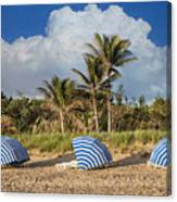 Summer Stripes Canvas Print