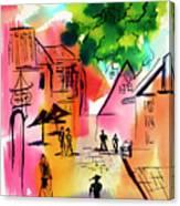 Summer Strolling Canvas Print