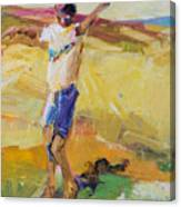 Summer Sun Dance   Canvas Print