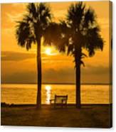 Summer Sunrise - Charleston Sc Canvas Print