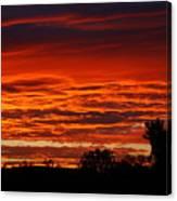 Summer Sunset 2 Canvas Print