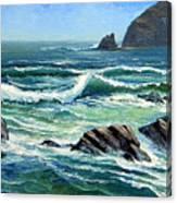 Summer Surf Canvas Print