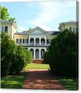 Summer Time At Sweet Briar House Canvas Print