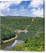 Summer View At Lovers Leap Canvas Print