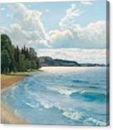 Summer View Canvas Print