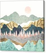 Summer Vista Canvas Print