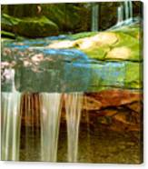 Summer Waterfall Canvas Print