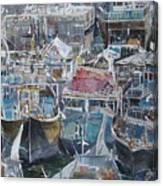 Summer Wharf Dubai Canvas Print