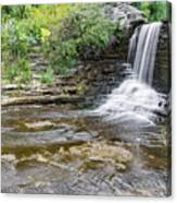Summer's Waterfall Canvas Print