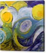 Summerstorm Canvas Print