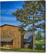 Summersville Mill Ozark National Scenic Riverways Dsc02626 Canvas Print