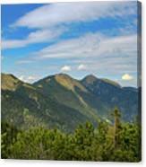 Summertime Alps In Germany Canvas Print