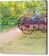 Summertime At The Barn Canvas Print