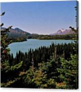 Tagish Lake - Yukon Canvas Print