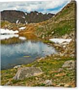 Summit Lake Study 5 Canvas Print