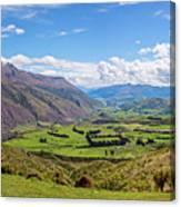 Summit View New Zealand II Canvas Print