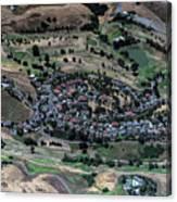 Summitpointe Golf Club Golf Course Aerial Canvas Print