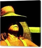 Sun Bathing Canvas Print
