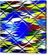 Sun Beach And Glass Catus 1 No. 1 H B Canvas Print