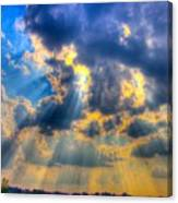 Sun Beams-4 Canvas Print
