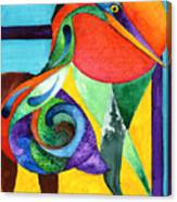 Sun Bird Canvas Print