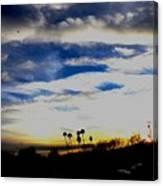 Sun Bound Canvas Print