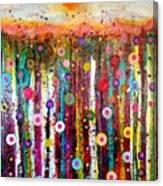 Sun Bursts Canvas Print