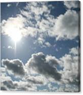 Sun Clouds Canvas Print